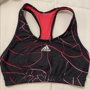 Adidas techfit sports bra